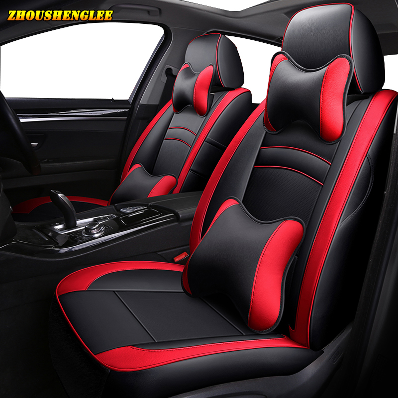 Luxury leather car seat cover for KIA Sportage Cadenza SHUMA Carens Borrego Opirus Sorento Niro custom
