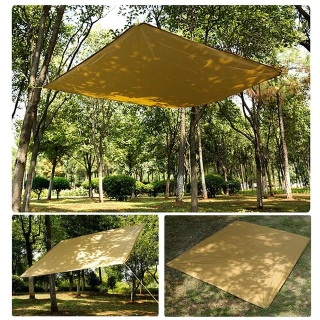 180x145cm Outdoor Sun Shelter Shade Waterproof Camping Tent Awning For Car Garden Portable Sunshade Protection Canopy