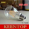 LightInBox220V 2 W 4 W 6 W 8 W Filamento da Lâmpada Bolha para a Decoração da Casa Do Vintage Edison DIODO EMISSOR de Luz E27 incandescente Lâmpadas dimmable