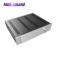 Nobsound Amplificador Chassi De Alumínio Do Painel de Caixa de Ferro DIY Pré-Amp Caixa