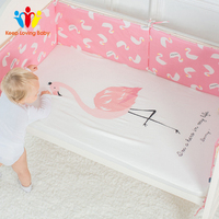 Cotton Crib Fitted Sheet Baby Bed Mattress Cover Protector Newborn Bedding Sheets Cot Linen Children's Bedspread
