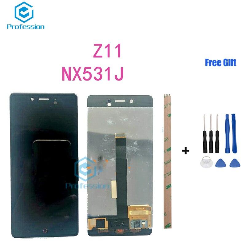 Pour ZTE Nubia Z11 NX531J Z17minis Z17mini Z17S Z17 Écran LCD Affichage et Écran Tactile Digitizer Assemblée Rempl Outils de ciment