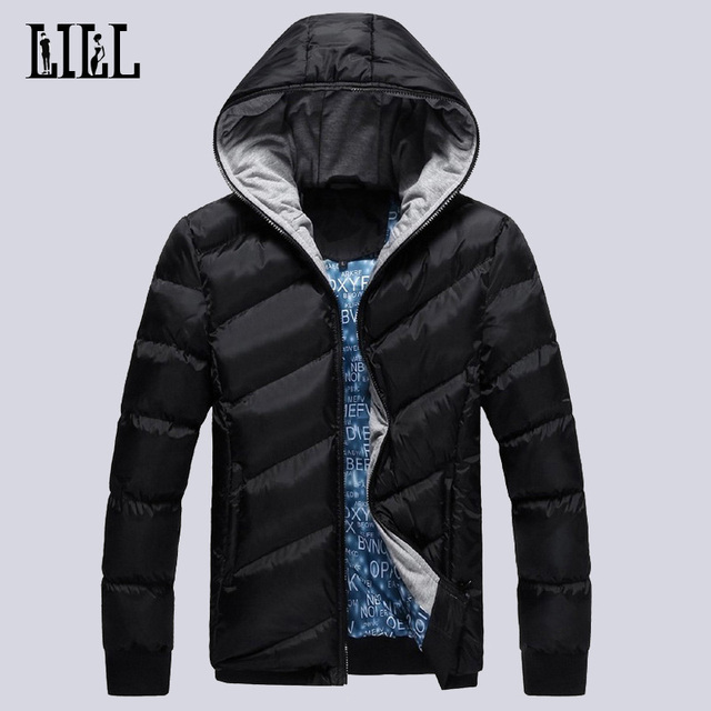 2016 Men's Winter Jackets And Coats Men Casual Polyester Cotton-padded Parkas Breathable Warm Thick Hooded Jacket For Man,UMA249