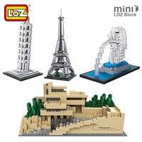 LOZ Mini Blocks City City Street Mini Series Architecture Bricks House Model Building Toys Diy Great