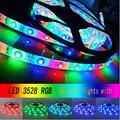 1 UNID DC 12 V 5 M SMD 300 300LEDS 3528 RGB impermeable de la Tira LED Lámpara de Luz para el Partido Casero Decoración VEN62 P50