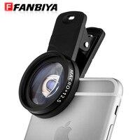 FANBIYA Smartphone Kamera Makro-objektiv Handy Photograpy für Schmuck Natur Pet Micro Linsen für iphone 7 7 plus samsung sony