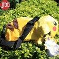 OHMETOY 1 UNIDS Meter Pikachu Monedero Bolsa Desmontable Ajustable Bolso De la Felpa para Los Niños Los Niños de Cumpleaños Regalos de Seguimiento Libre