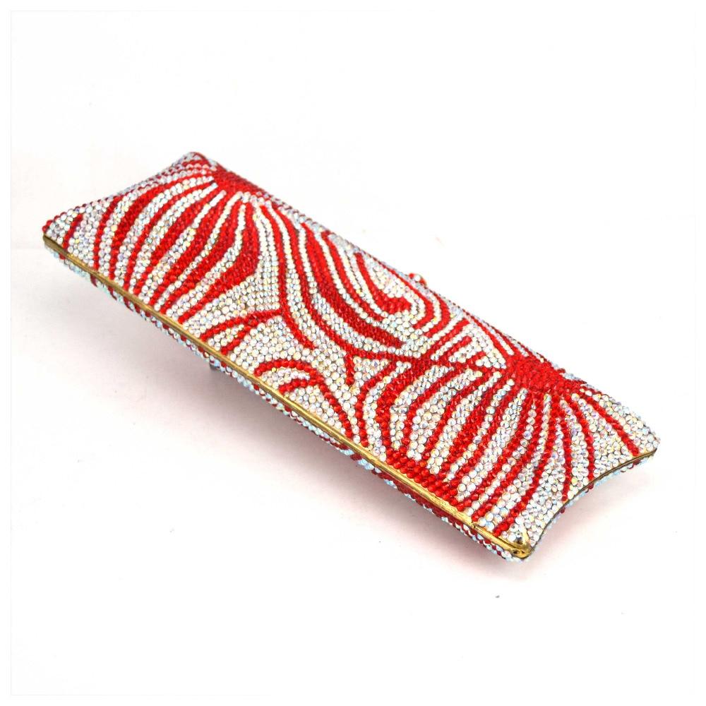 Sc541 Femelle D'embrayage De Cupcake Soirée Rouge Sac Cristal Longue Bag Embrayages Femmes Flamme Mariage Mode Bourse Paquet Pochette Élégante Parti Luxe wIUqzYI