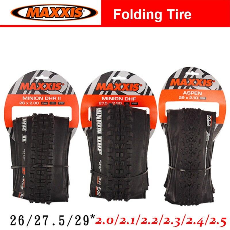 купить MTB 26 27.5 29 inch 2.0 2.1 2.2 2.3 2.4 2.5 DHR DHF Bicycle Tubeless Foldable Tires DH Bike Tires with 3C TR EXO Technology по цене 2685.9 рублей