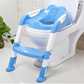 Removable Portable Baby  Potty Seat With Ladder Children Toilet Seat Cover Kids Toilet Folding infant potty chair Training