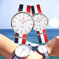Fashion Smart Quartz Watch With Canvas Strap Sport Casual Watch is Waterproof Cartoon-watch