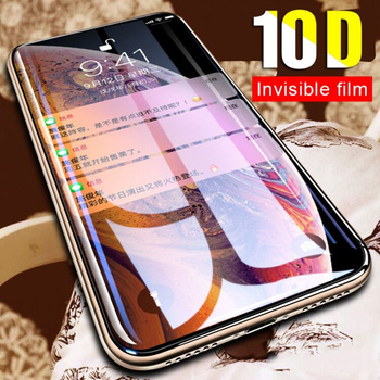 10D Protective Glass on the For iPhone X XS Max XR Tempered Screen Protector Film Full Cover Glass on the XR XS Max Full Glass