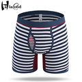 Hot Sell New Fashion Sexy Brand Best Quality Man Gay Cotton Underwear Men's Boxer Shorts Male Large Size Underpant Boy Home Fat