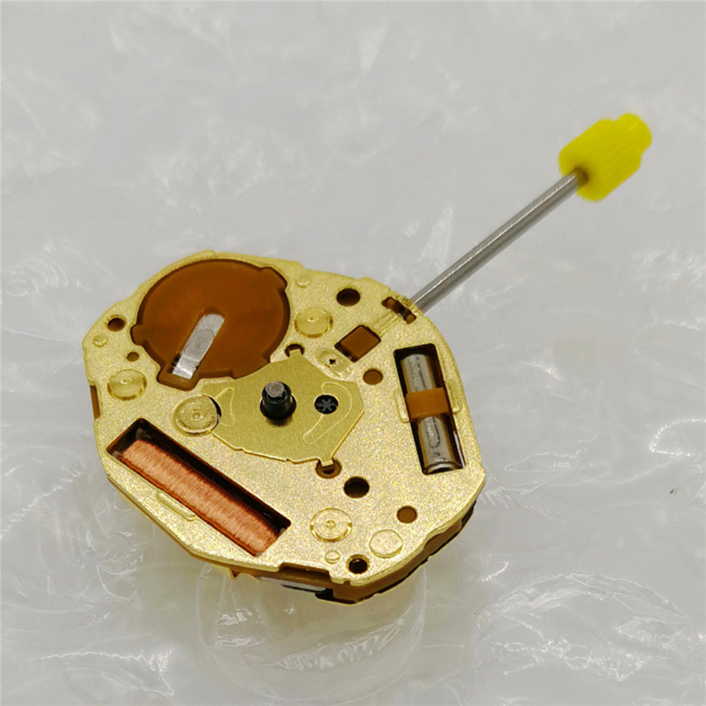For Miyota GL20 Watch Movement With Battery For 2 Pins Quartz Watch Electronic Movement And Adjusting Stem Watch Repair Parts