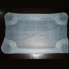 Biały niebieski silikonowy skórzany pokrowiec ochraniacz na drążek skrzyni biegów do Wii Fit Balance Board