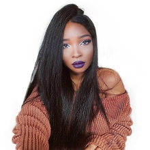 Straight Full Lace Human Hair Wigs With Silk Base 180% Density Pre Plucked Brazilian Remy Full Lace Wigs With Baby Hair You May