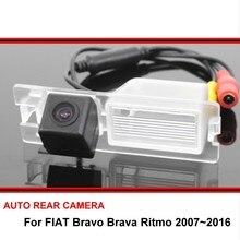 Cámara de visión trasera para coche, cámara de aparcamiento para coche, CCD, visión nocturna, Brava para FIAT/Ritmo/Bravo 2007 ~ 2016
