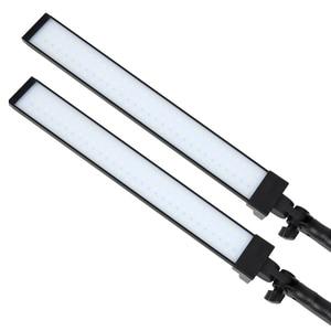 Image 5 - GSKAIWEN 사진 조명 스튜디오 LED 조명 키트 라이트 스탠드 삼각대와 조절 라이트 사진 비디오 채우기 라이트