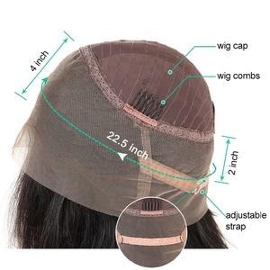 Peluca de pelo humano Frontal de encaje de 360 de Asteria con pelo de bebé cuerpo brasileño 360 pelucas frontales de encaje para negro mujeres Remy