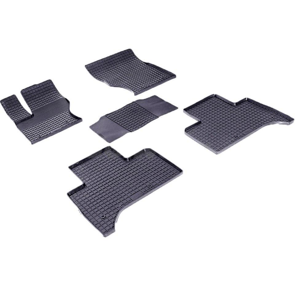 все цены на Rubber grid floor mats for Land Rover Range Rover Sport II 2013-2018 Seintex 85080 онлайн