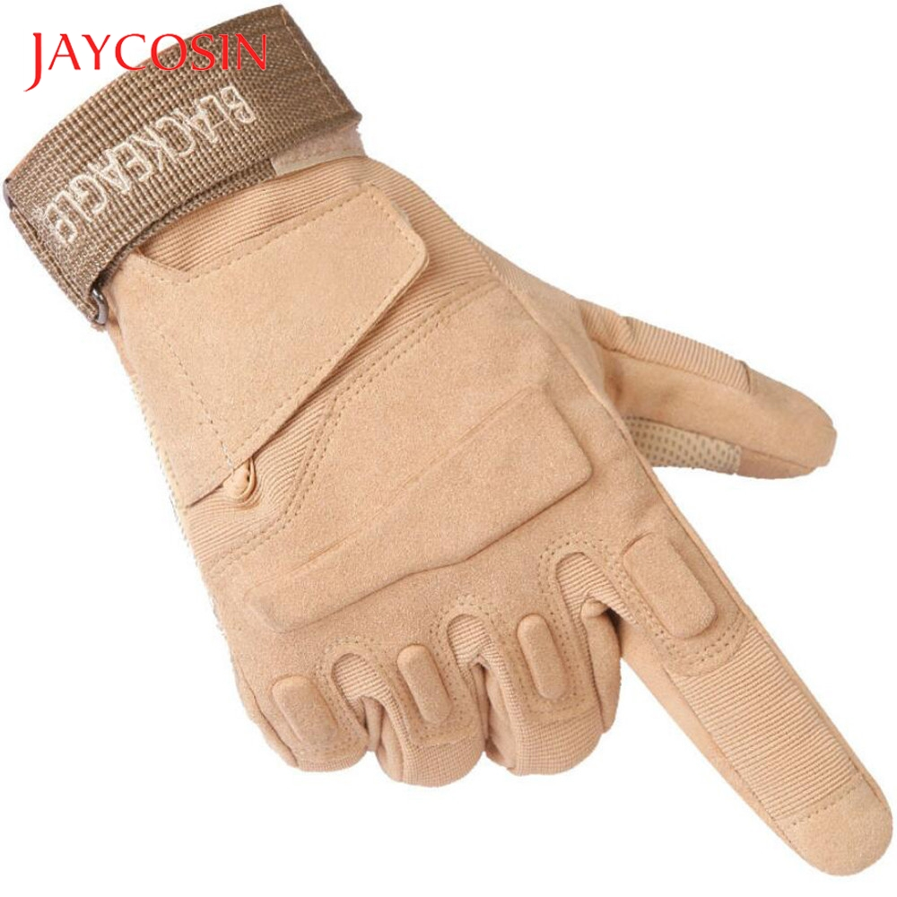 JAYCOSIN Sports Mountaineering Ride Mittens Army-Fans Long Finger Gloves Tactical Outdoor High Quality Velcro Design