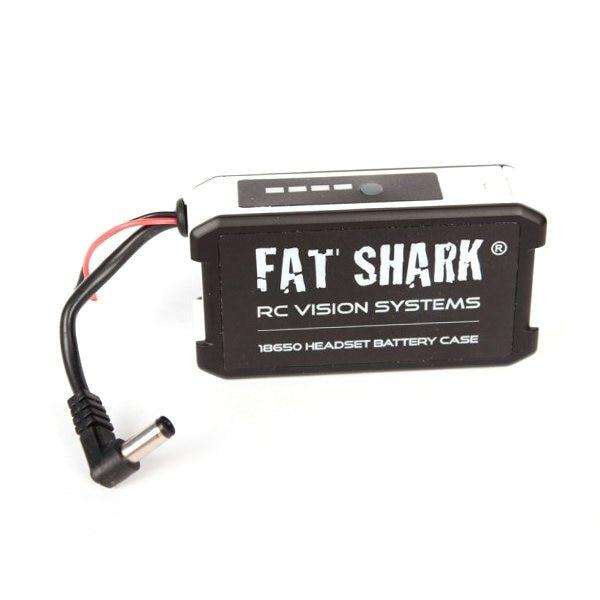 FatShark FSV1814 18650 Li Ion Cell Goggle Headset Battery Case can provide 7 4V nominal voltage
