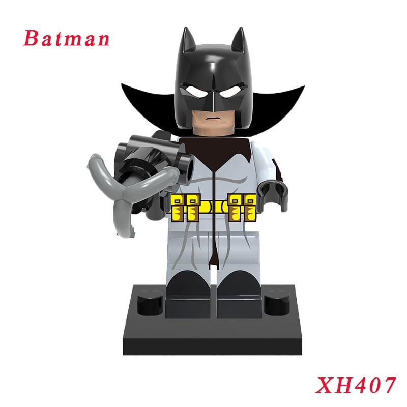 Бэтмен БЭТМЕН Дамиан Уэйн DIY куклы одной продажи Супер Герои Бэтмен фильмы образование Строительные блоки Кирпич Дети игрушки Xh407