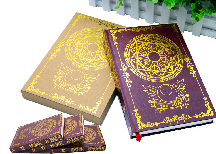 New Japanese Anime Card Captor Sakura Magic Notebook Diary book stationery Gift New in Box Free Shipping