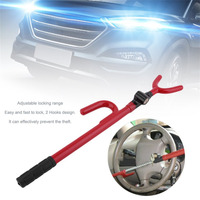 Professional Steering Wheel Anti Theft Lock Strong Security Lock Universal Automobile Double Steering Wheel Lock Drop