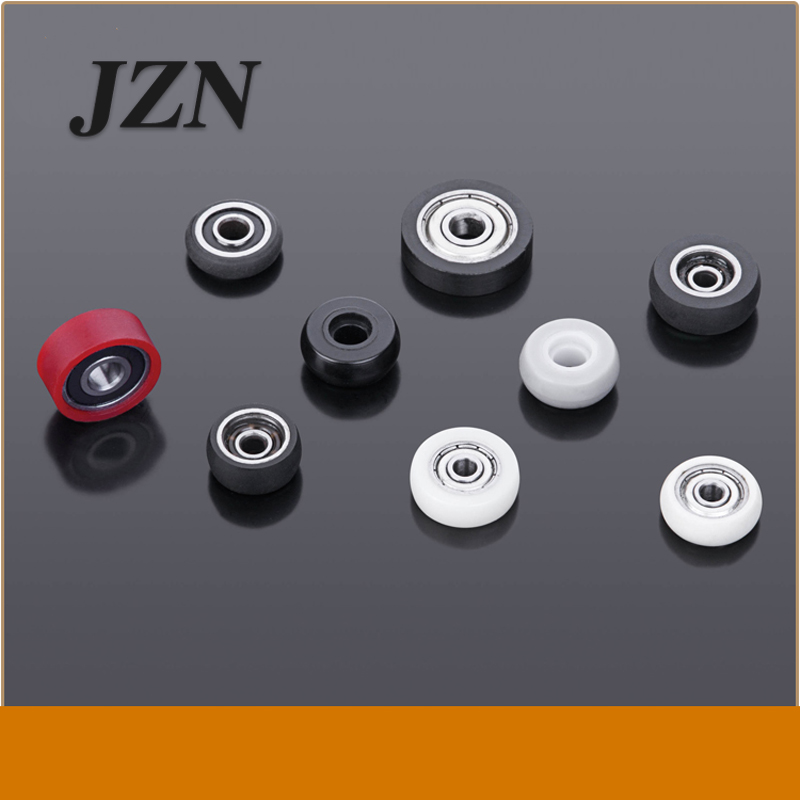 plastic ball bearing /plastic plain bearing/plastic wheel with bearing wheel bearing