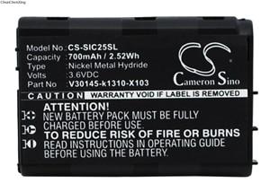 Cameron Sino Battery V30145-k1310-X103 for Siemens C25, C25 Power, C2588, C25e, C28(China)