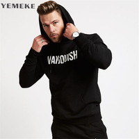 YEMEKE In 2017 The Latest Men S Cotton Shirt Autumn Winter Wear Hoodie Casual Fashion Brand