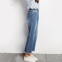 2017 Women S Spring Denim Skinny Jeans Pants Slim All Match A709