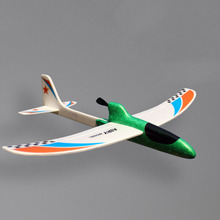 Colorful DIY Airplane Toy with Remote Controller for Children
