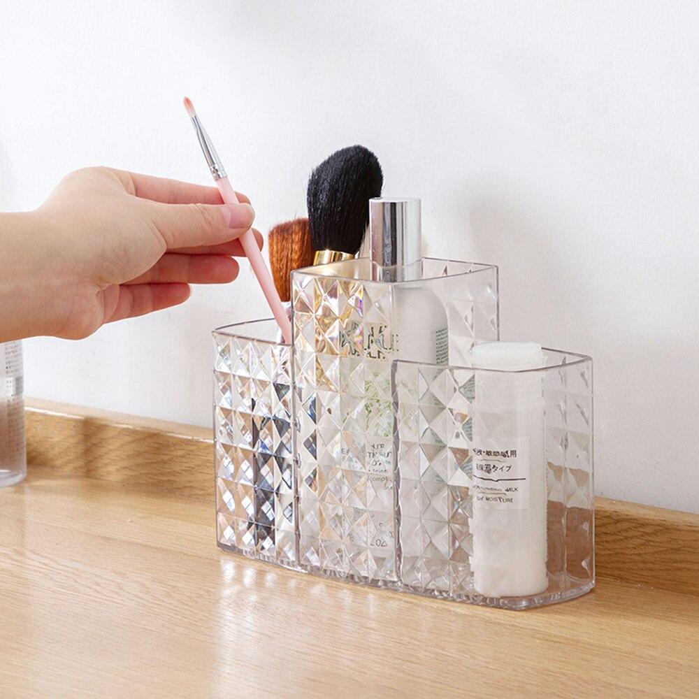 Cosmetic storage box dressing table storage box desktop plastic stationery skin