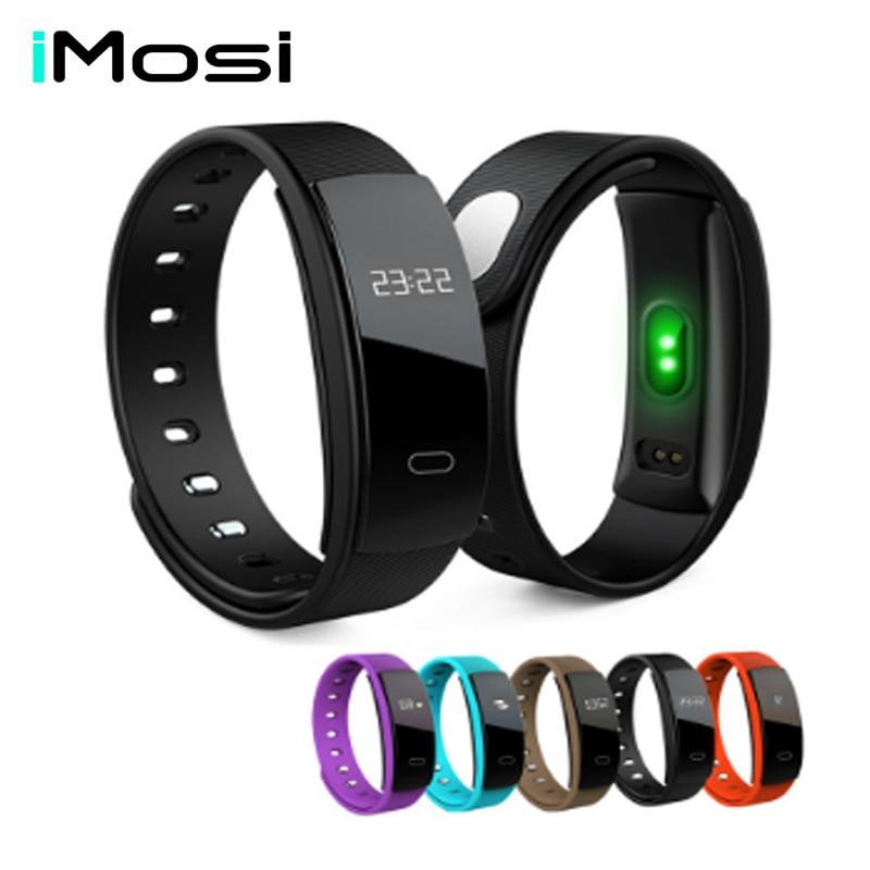 QS80 Wireless Smart Armband Fitness Tracker Aktivität Tracker Blutdruck Schrittzähler Herz-Monitor-Sport Smart Uhren