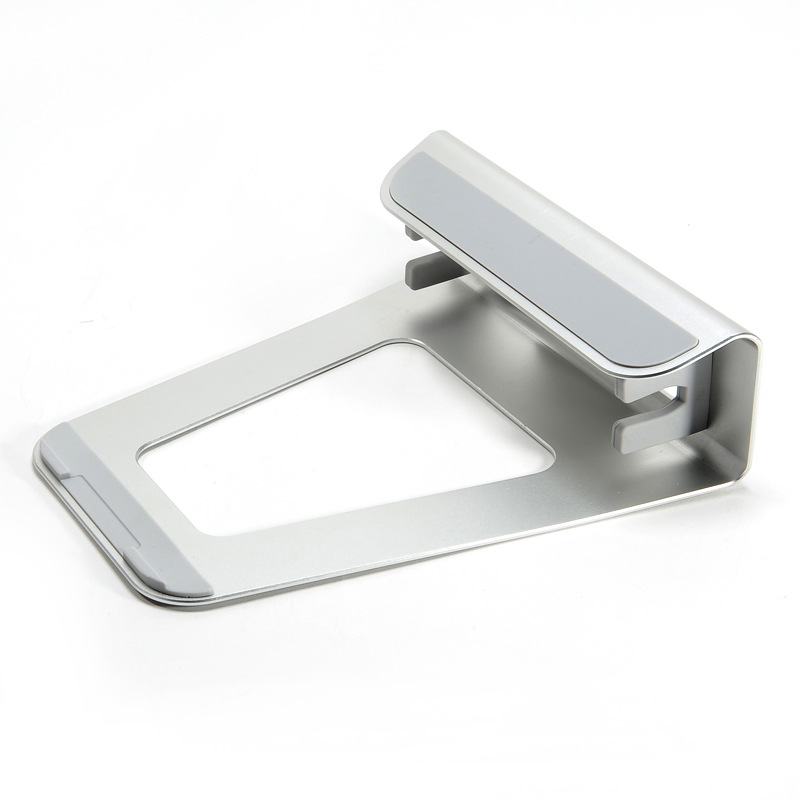 2 In 1 Function Aluminum Alloy Firm Bracket for Macbook Air Pro Retina 11 12 13 15 Vertical Base Stand for IPAD PC Cooling Stand in Tablet Stands from Computer Office