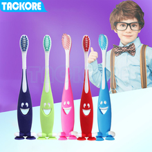 Baby Cute Soft-bristled Toothbrush for Children Teeth Cartoon Kids Training Dental Care Baby Dental Care Tooth Brush цена и фото