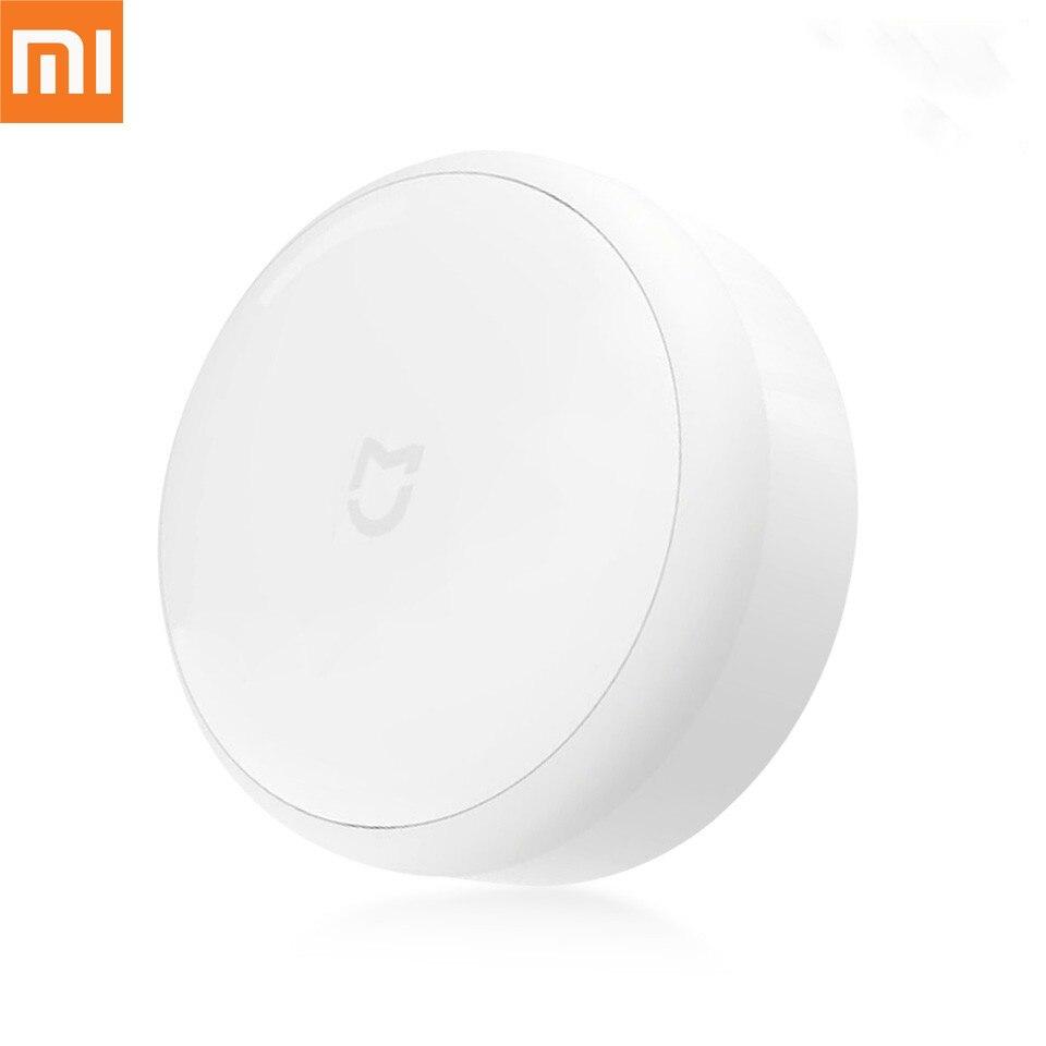 Xiaomi mi jia lámpara LED Yeelight corredor de luz de la noche de Control remoto por infrarrojos Sensor de movimiento del cuerpo de casa inteligente mi luz