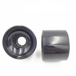 Image 4 - 4 ピース/セット 70 ミリメートルブランクロングボードの車輪スケートボードの車輪ロングボードストリートホイールソフトホイールスピード CUIRSER SHR 80A