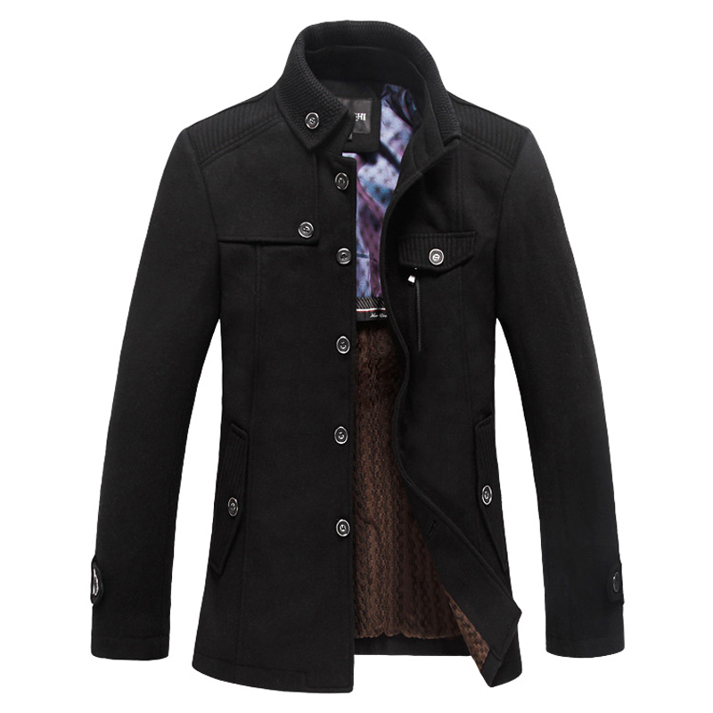 Online Get Cheap Mens Wool Pea Coat -Aliexpress.com | Alibaba Group
