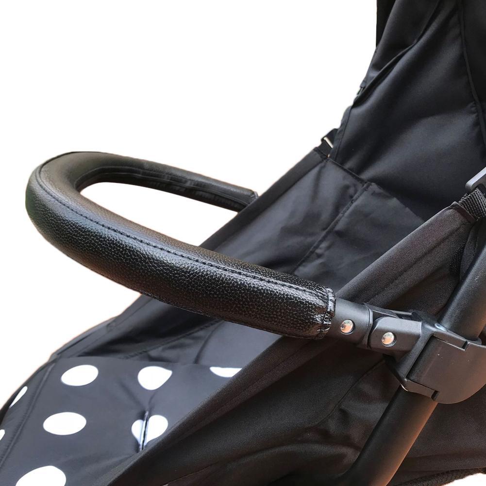 Baby Stroller Accessories Universal Bumper Bar For Strollers Cup Holder For Stroller Rear Bag Storage Bag Safety Belt Pram Parts