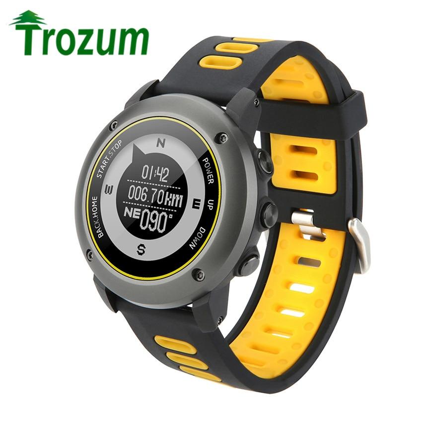 Professional GPS Outdoor Sport Smart <font><b>Watch</b></font> UW90 Sport Wristwatch IP68 Waterproof Swimming Snoeling Heart Rate Fitness Tracker