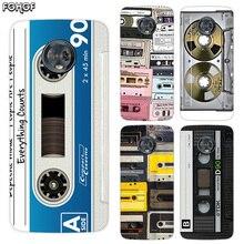 Silicone Hull Shell Back Case For Motorola MOTO G5 G5S G6 G4 E4 E5 Plus X4 Riverdale Cover Vintage Tape Camera Gameboy