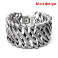2016 New Hot Fashion Jewelry women and Men's chunky Bracelets bangle 316L Stainless Steel Bracelet Man Gifts Vintage MH1078