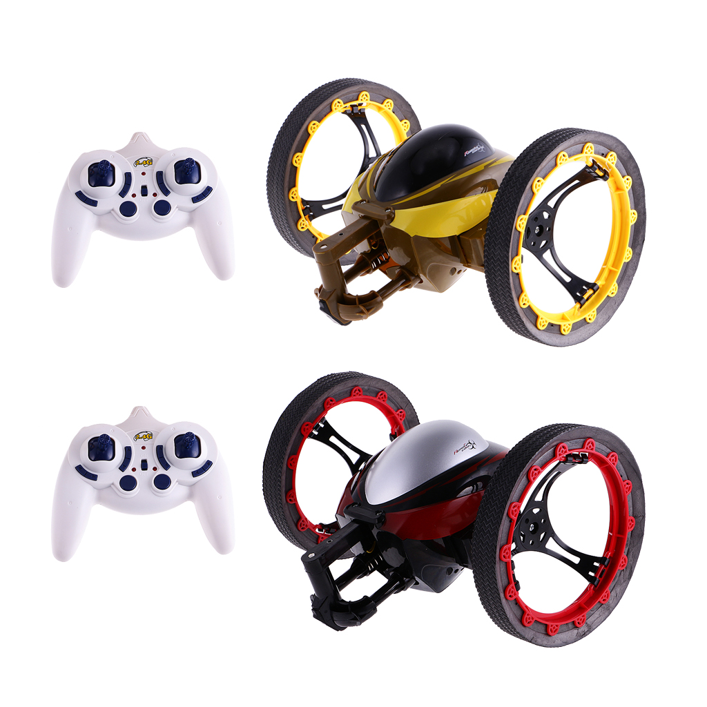 High Quality Car Toys 1/18 2.4GHz Radio Remote Control Jumping Car Bounce RC Car Vehicle Model Robot Toy Best Gift for Child Kid