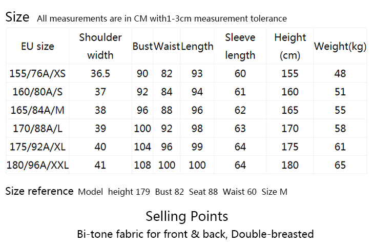 ONLY Women's Bi-tone Fabric Double-breasted Wind Coat 118336571 12