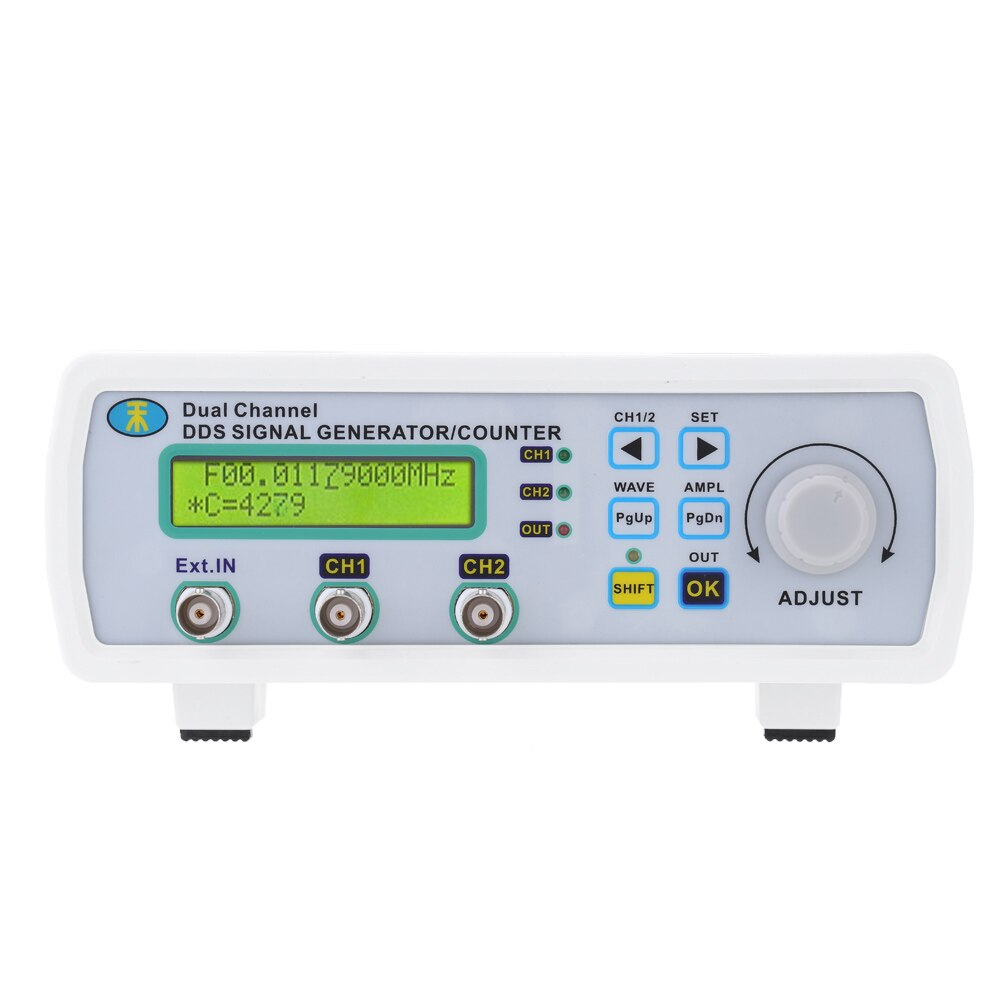 Mini générateur de Signal numérique DDS fonction compteur de Source de Signal double canal générateur de fréquence de forme d'onde arbitraire 200msa/s 25MHz - 4