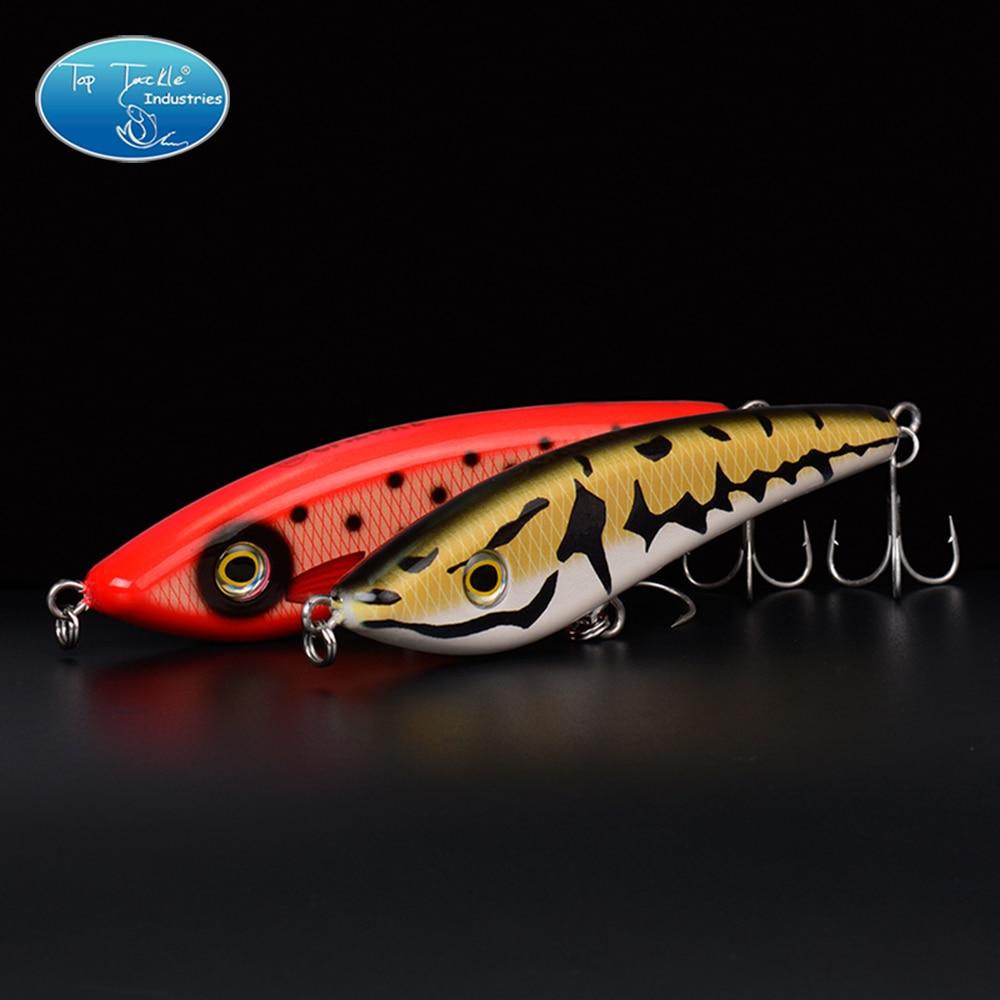 Hunter Jerk Bait Sinking Pencil Nice Fishing LureLifelike Color Fishing Tackle 135MM/67G