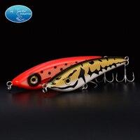 10 шт hunter рывок приманки( 140мм 70g, 160мм 85g, 180мм 150) рыболовную приманку владелец крючки